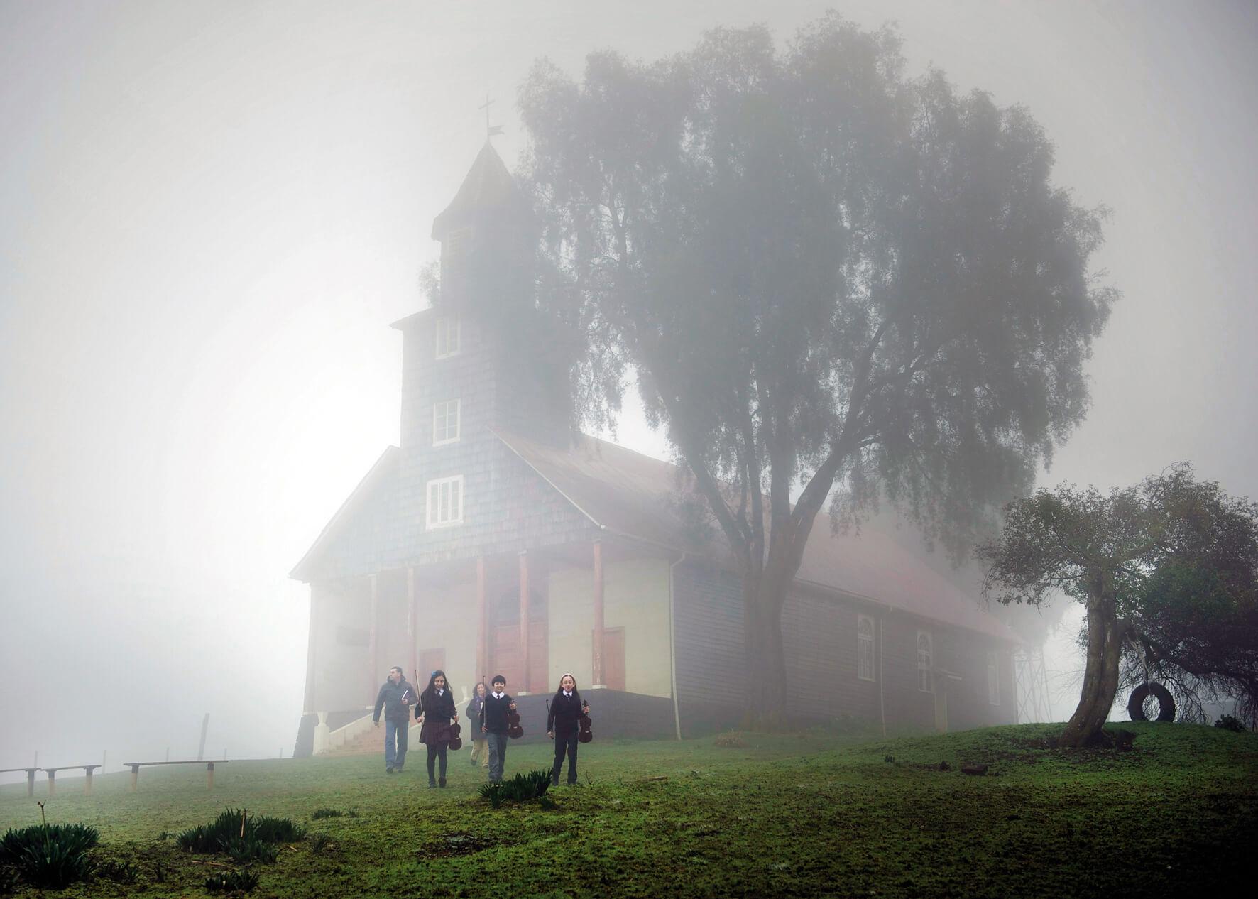 Iglesia de Trumao, Foto: Francisca Valdés - Revista Enfoque