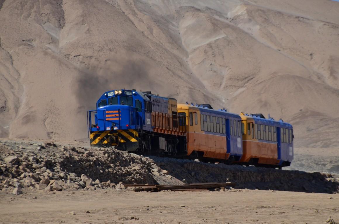 Tren turístico Arica - Poconchile