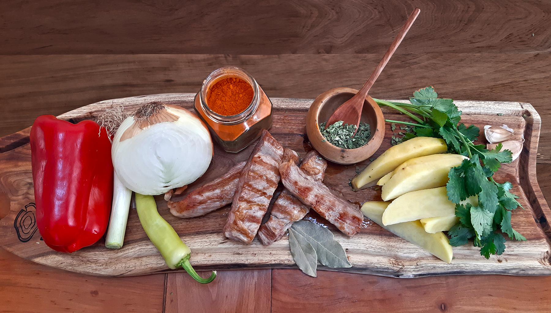 Ingredientes ajiaco chileno